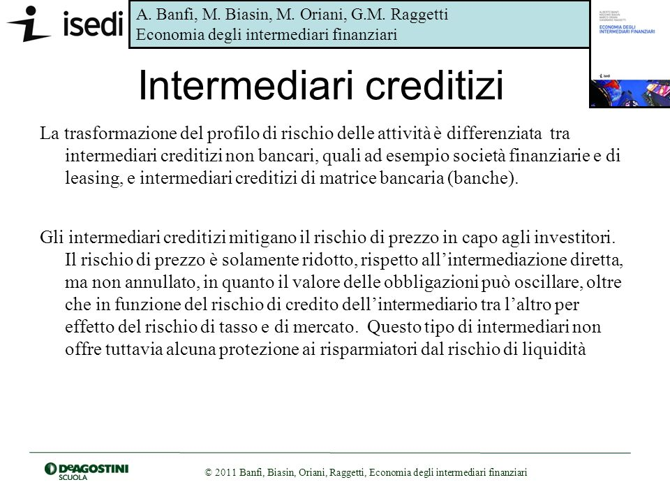 Intermediari creditizi