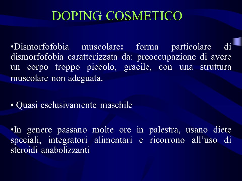 DOPING COSMETICO
