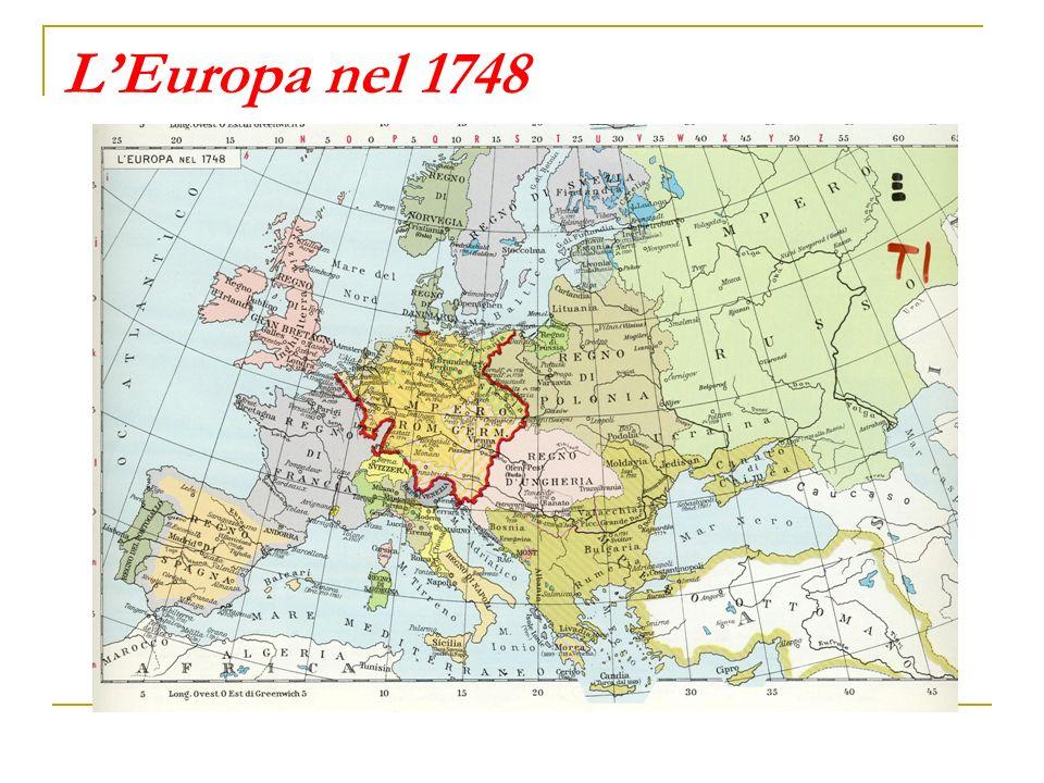 Cartina Europa 700.Gli Equilibri Politici Nell Europa Del Settecento Ppt Video Online Scaricare