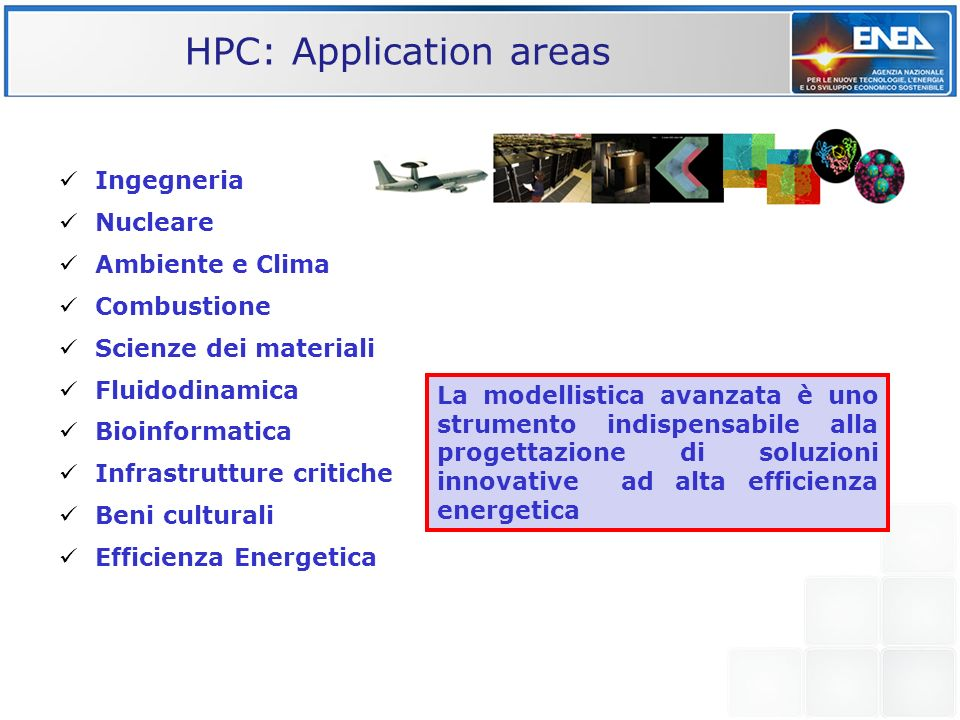 HPC: Application areas