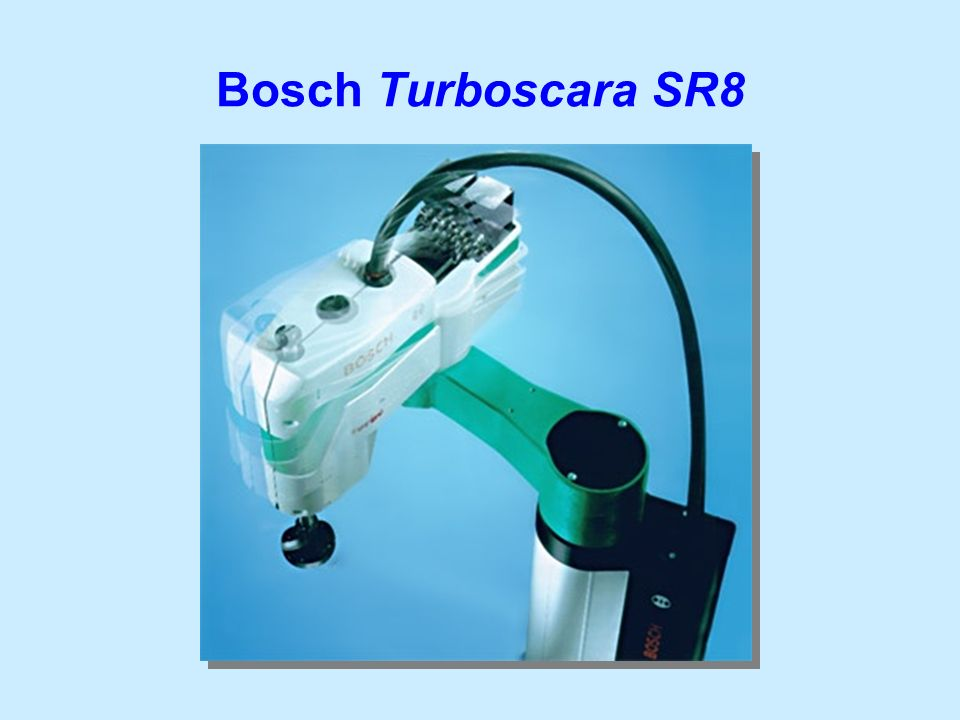Bosch Turboscara SR8