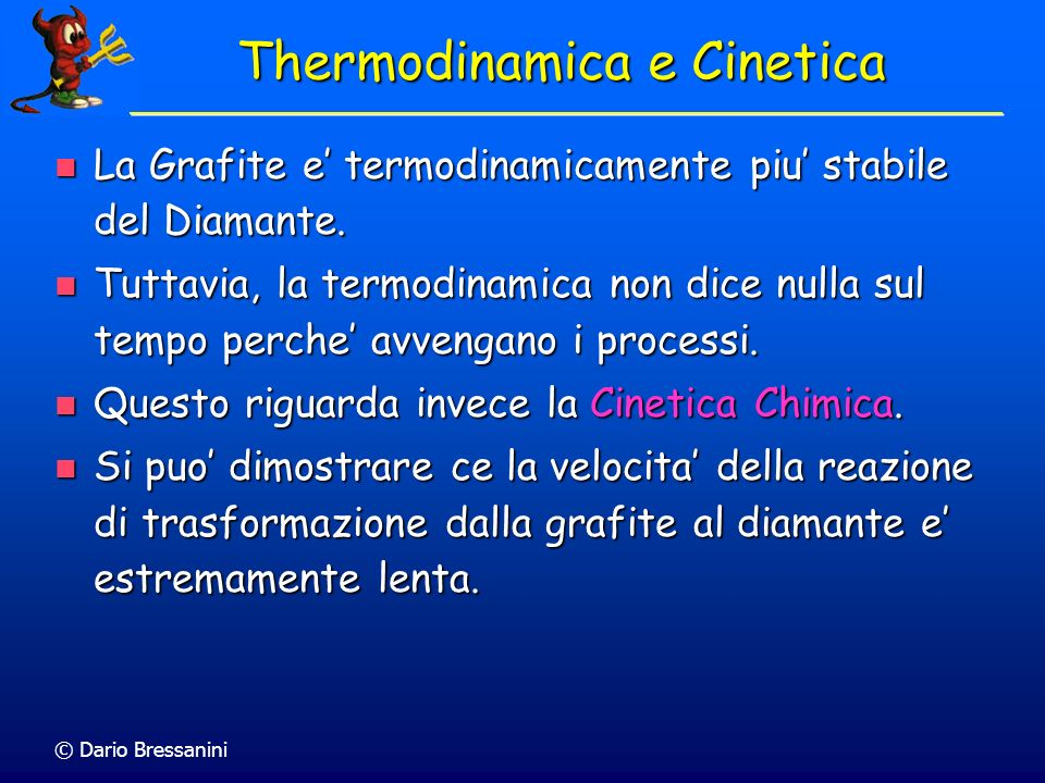 Thermodinamica e Cinetica