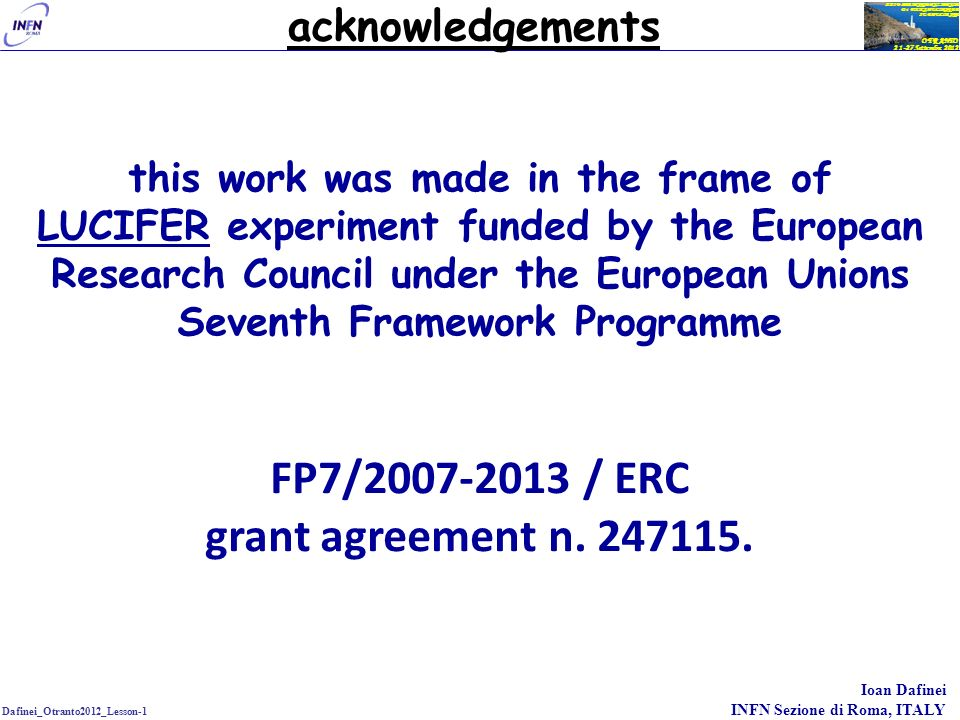 FP7/2007-2013 / ERC grant agreement n. 247115.