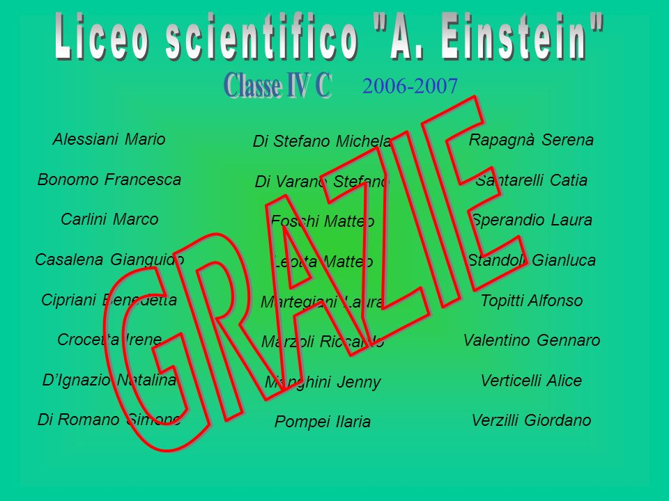 Liceo scientifico A. Einstein