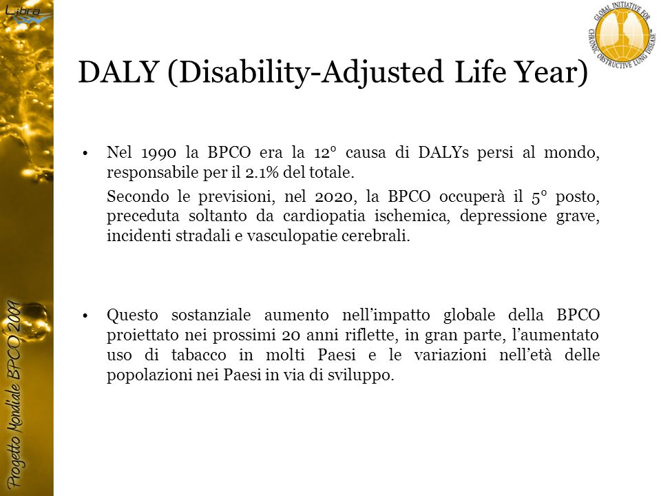 DALY (Disability-Adjusted Life Year)