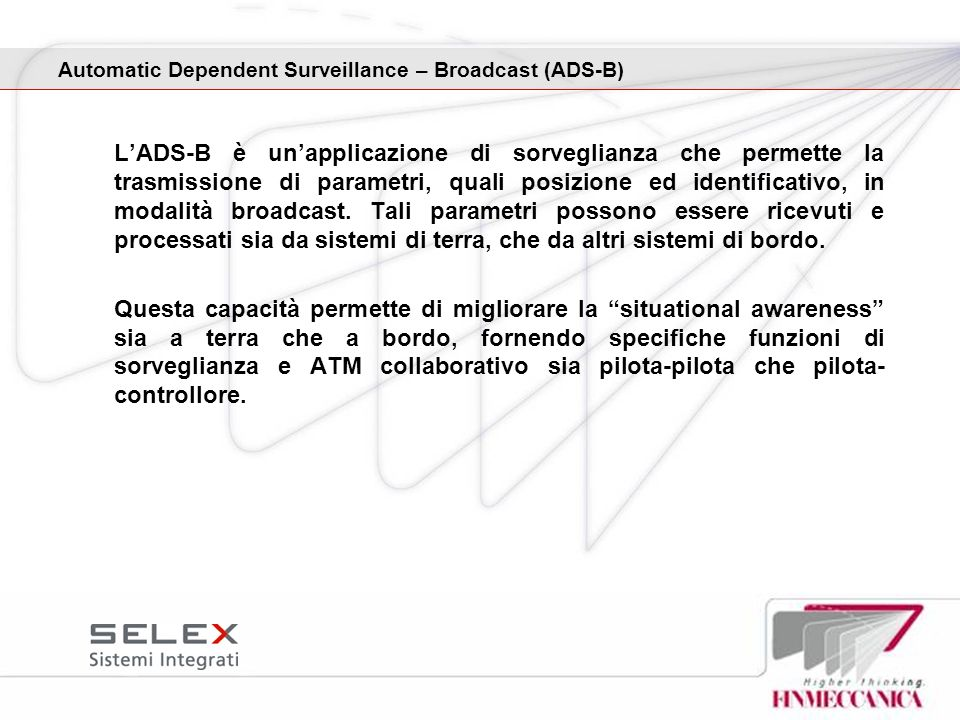 Automatic Dependent Surveillance – Broadcast (ADS-B)