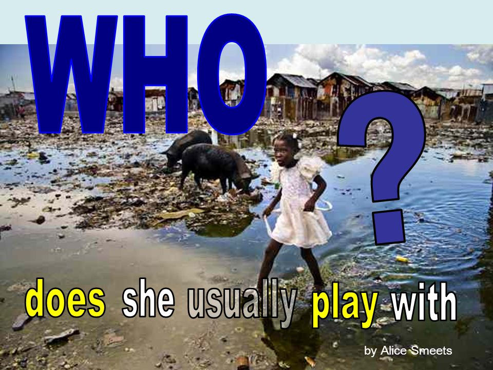 WHO does she usually play with by Alice Smeets