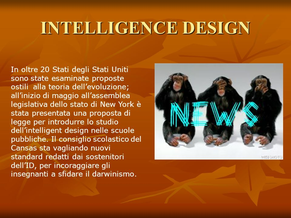 INTELLIGENCE DESIGN