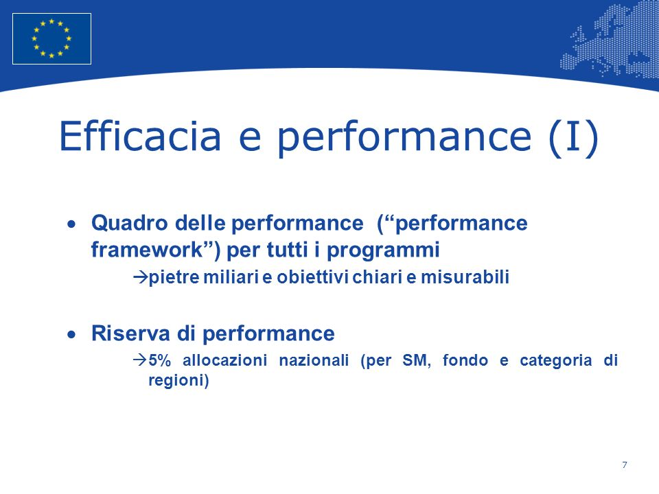 Efficacia e performance (I)