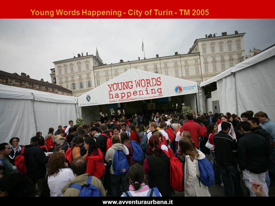 Young Words Happening - City of Turin - TM 2005