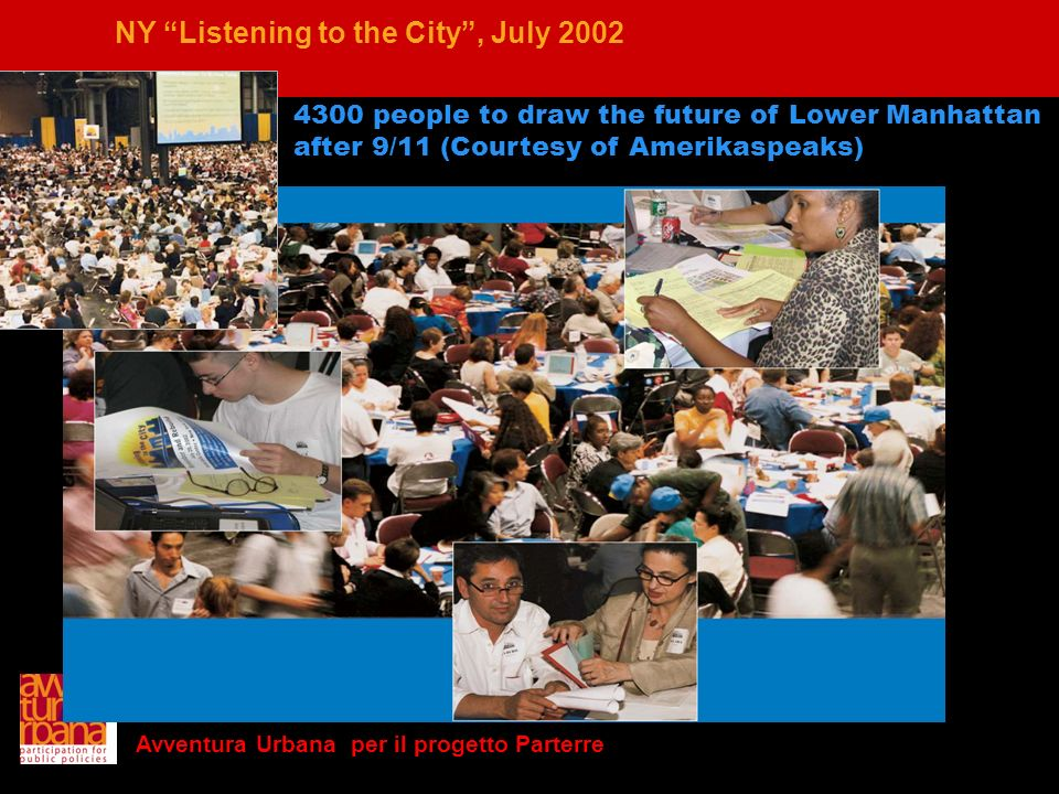 NY Listening to the City , July 2002