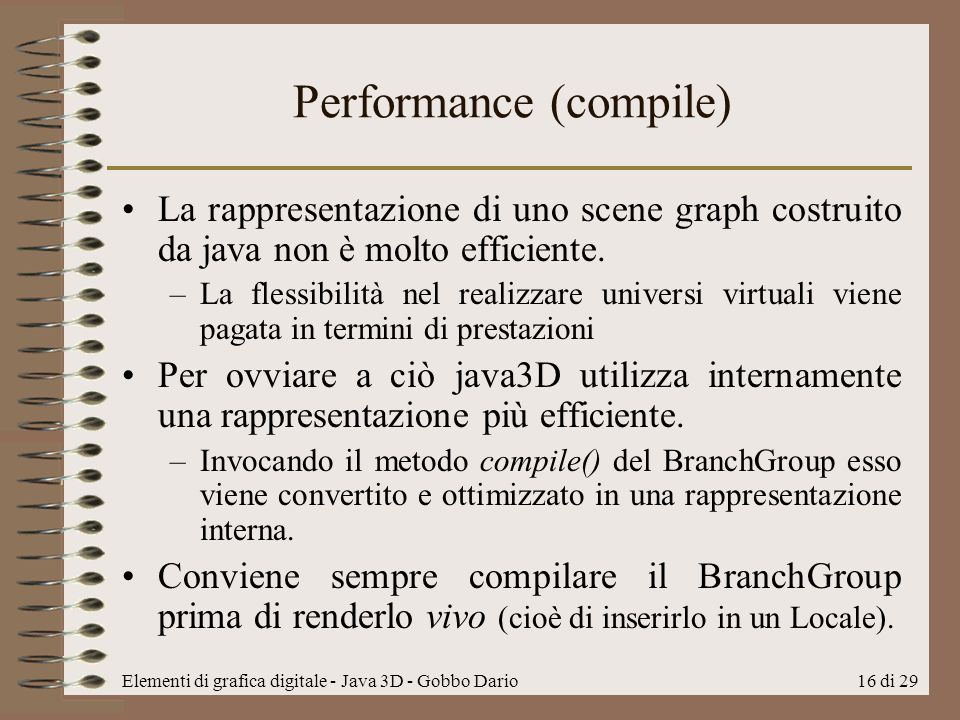 Performance (compile)