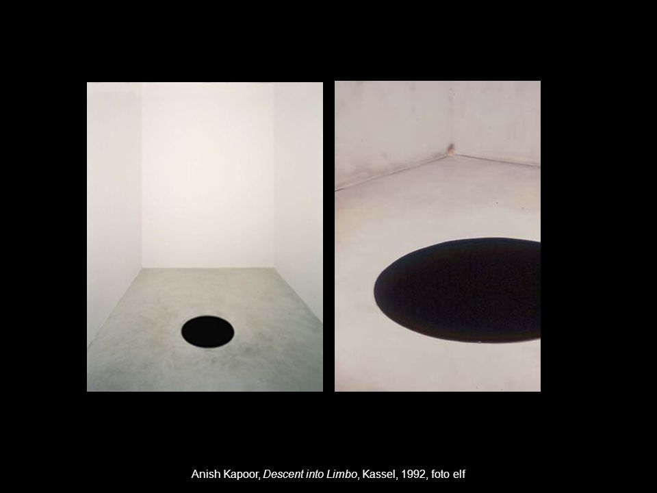 Anish Kapoor, Descent into Limbo, Kassel, 1992, foto elf