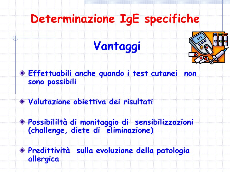 Determinazione IgE specifiche