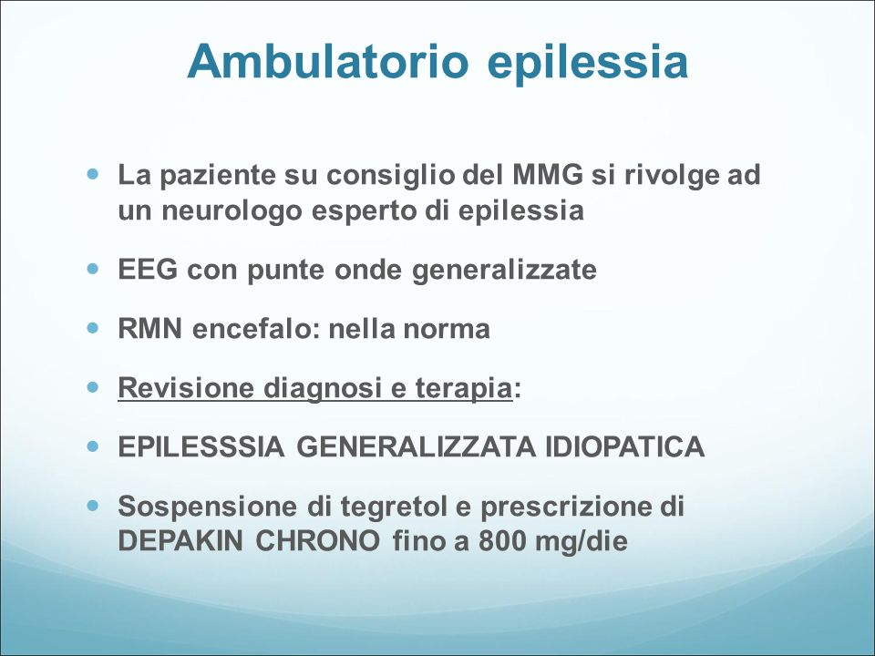 Ambulatorio epilessia