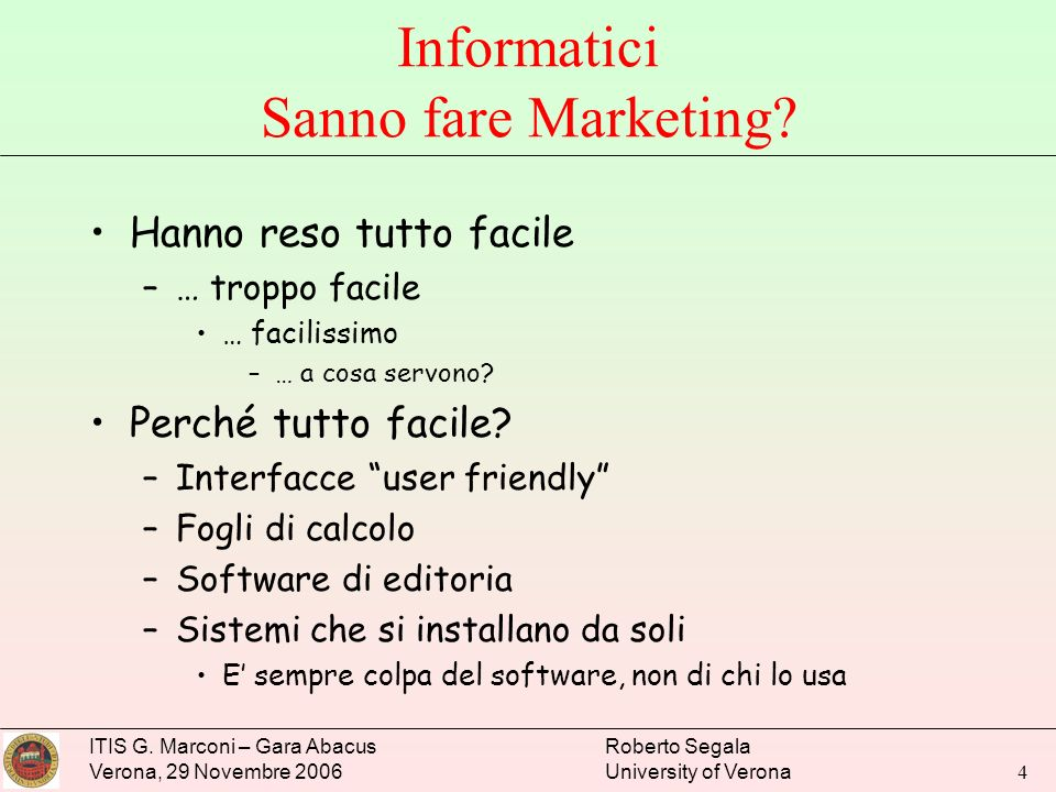 Informatici Sanno fare Marketing