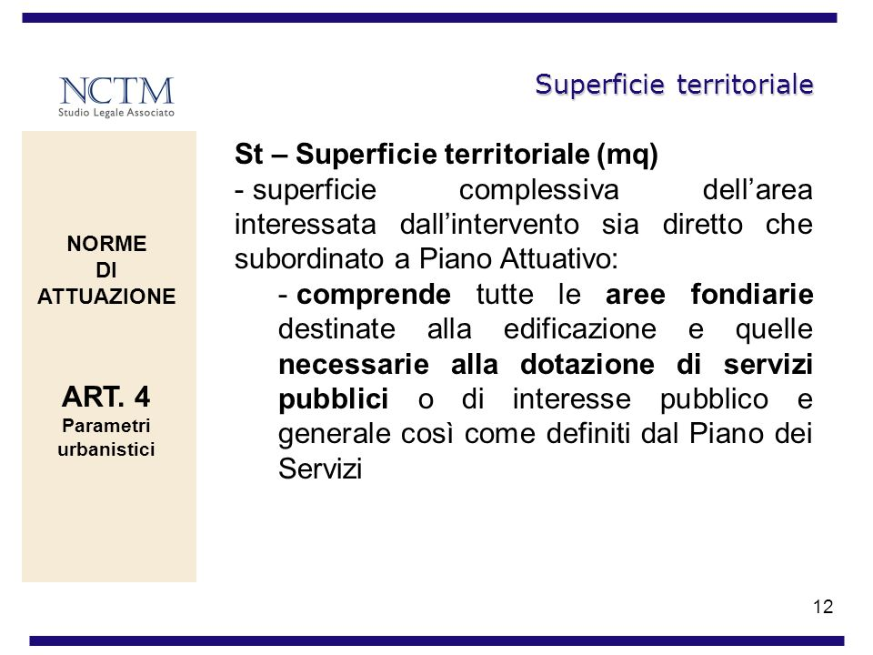 Superficie territoriale