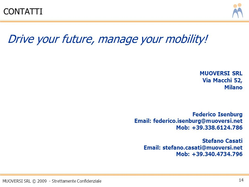 Drive your future, manage your mobility!