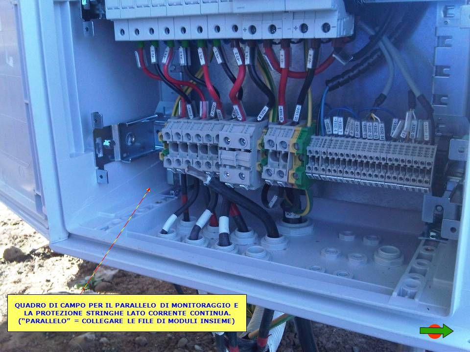 Schema Elettrico Quadro Di Campo Stringhe : Impianto fotovoltaico ppt video online scaricare