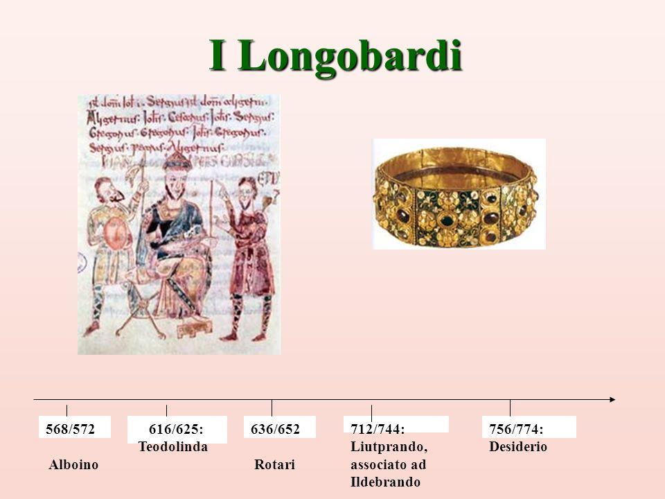 sneakers for cheap f2343 045df I Longobardi 568/572 Alboino 616/625: Teodolinda 636/652 ...