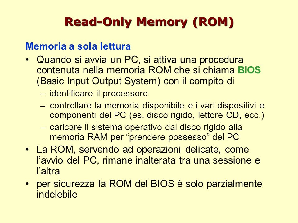 Read-Only Memory (ROM)