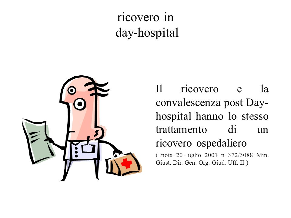 ricovero in day-hospital