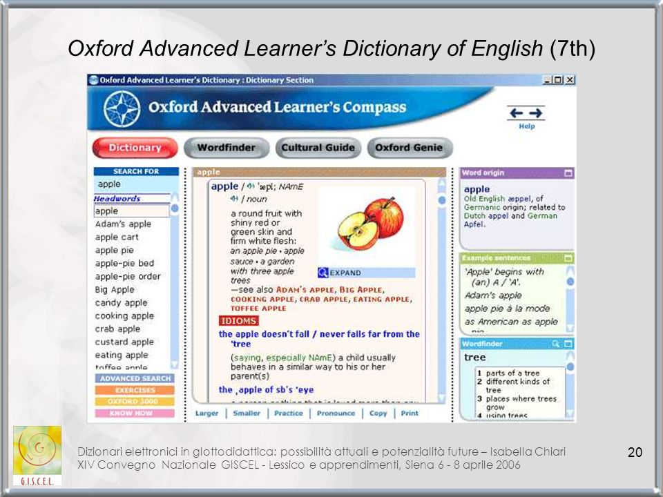 Oxford Advanced Learner's Dictionary of English (7th)