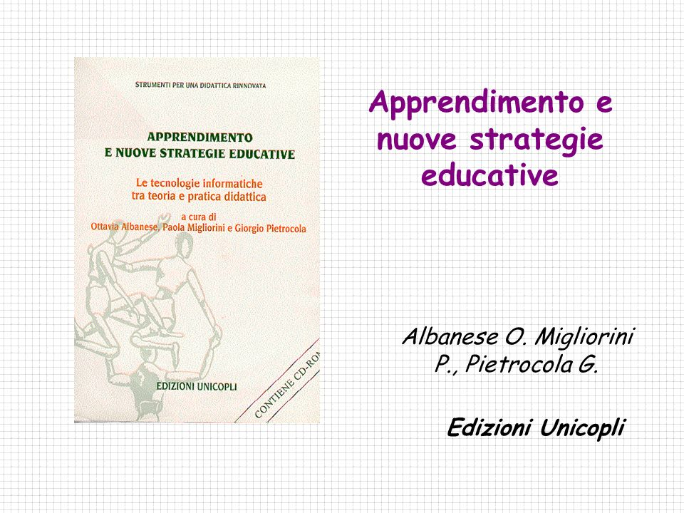 Apprendimento e nuove strategie educative