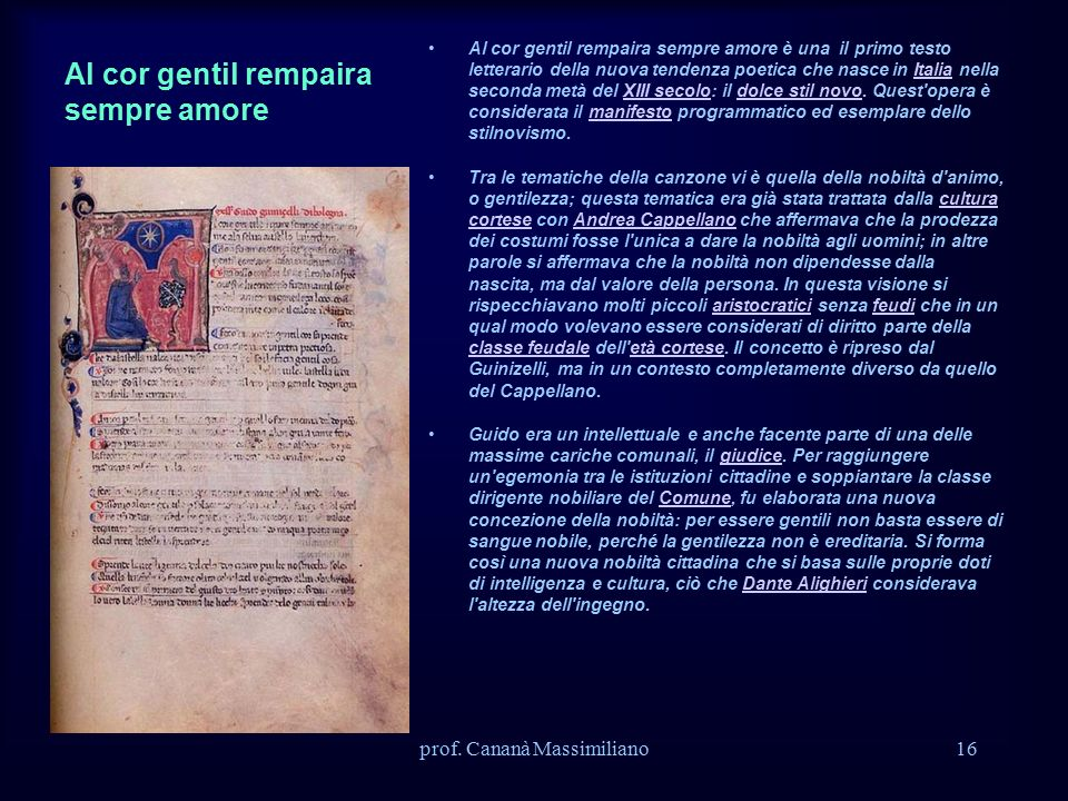 Prof Canana Massimiliano Ppt Video Online Scaricare