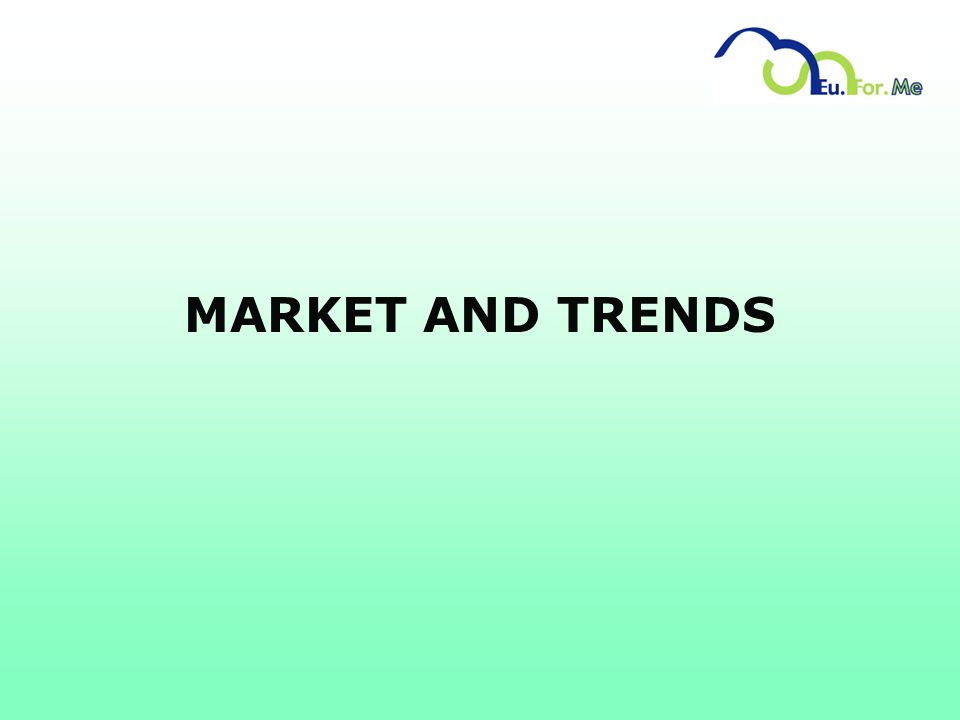 MARKET AND TRENDS