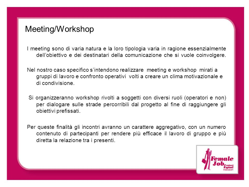 Meeting/Workshop