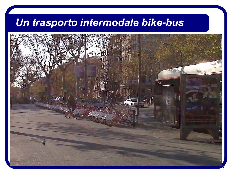 Un trasporto intermodale bike-bus