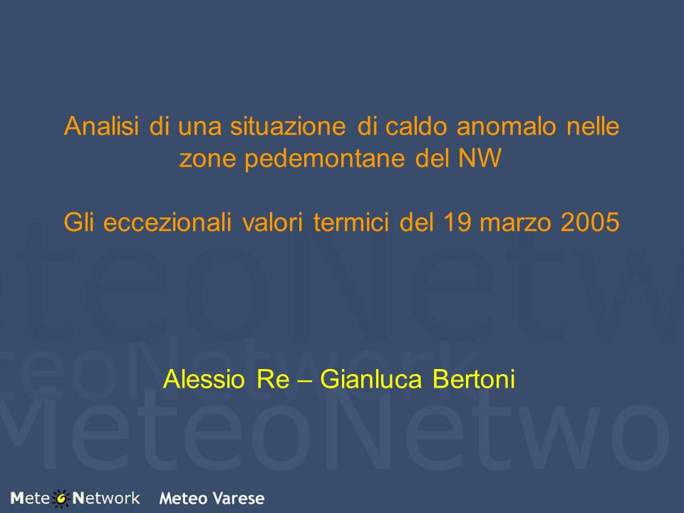 Alessio Re – Gianluca Bertoni