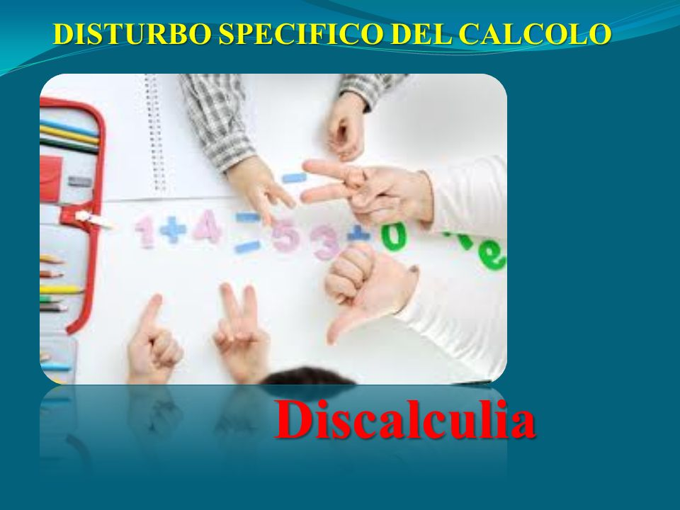 DISTURBO SPECIFICO DEL CALCOLO