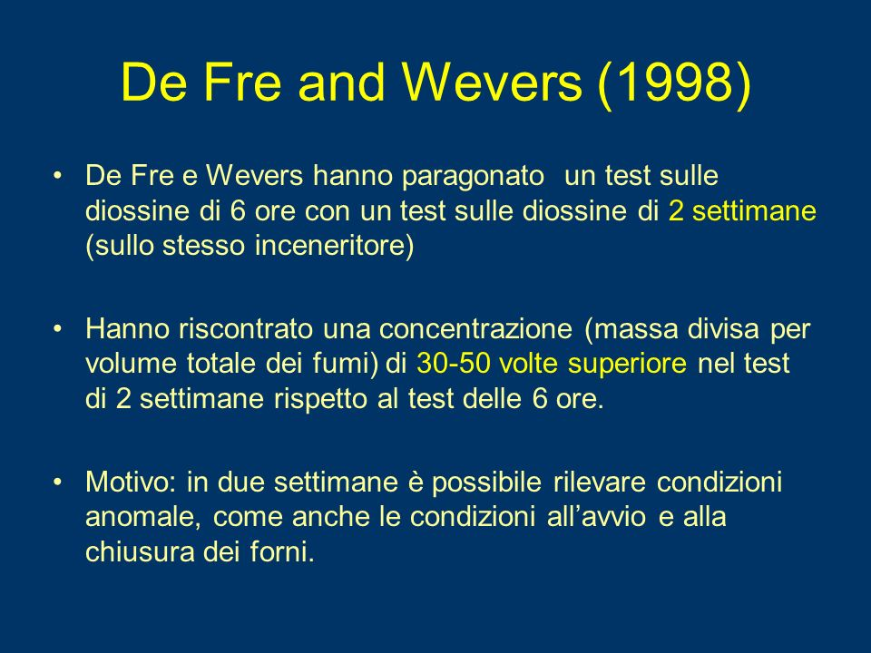 De Fre and Wevers (1998)