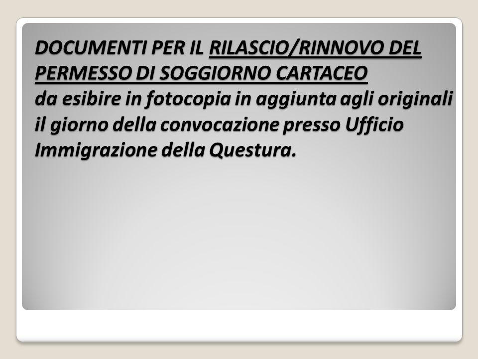 Beautiful Questura Cagliari Permessi Soggiorno Images - Amazing ...