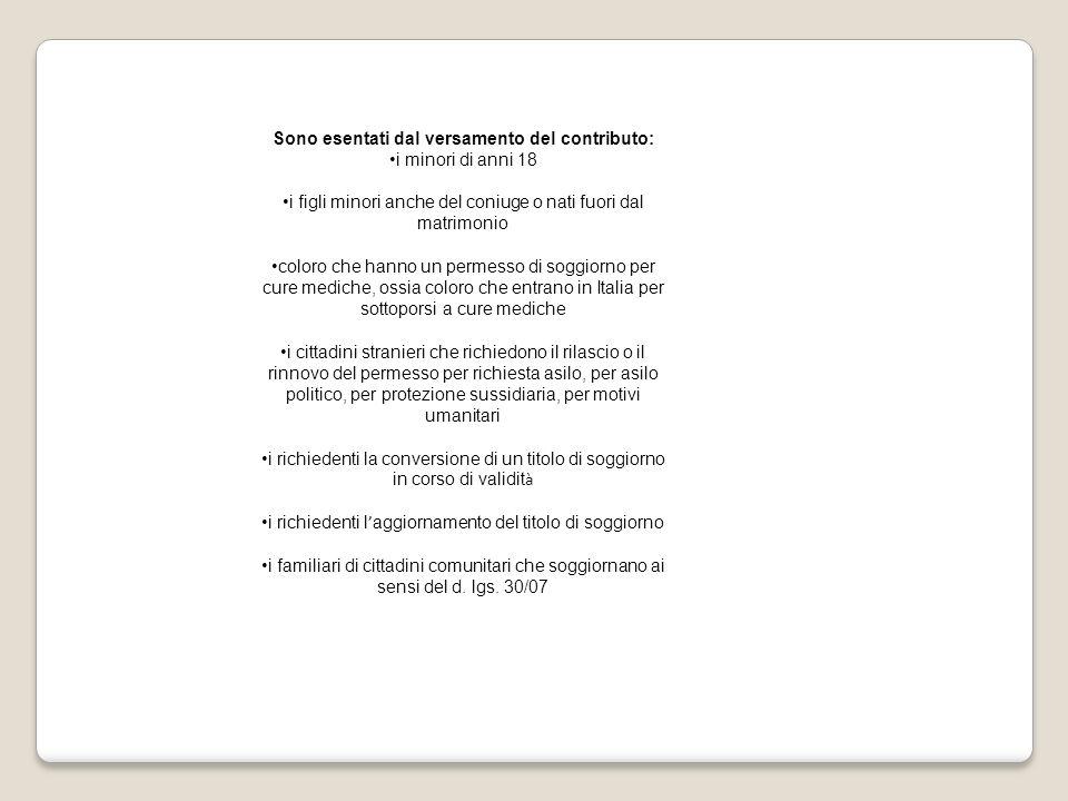 Top Permesso Di Soggiorno Validità Photos - Comads897.com ...
