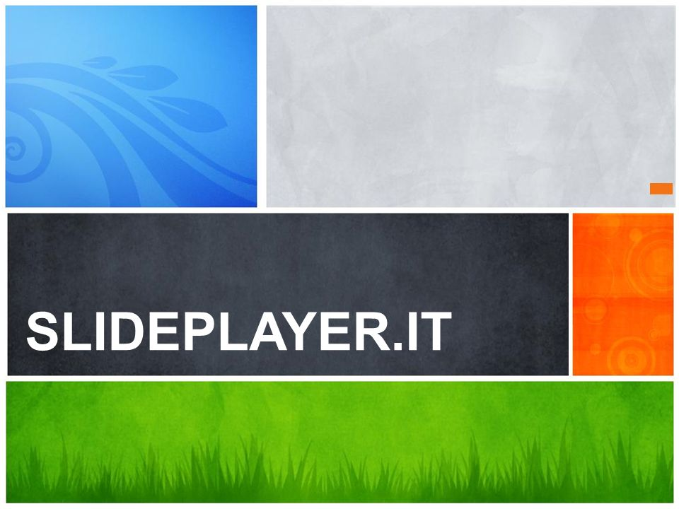 SLIDEPLAYER.IT Lei cosa ne pensa