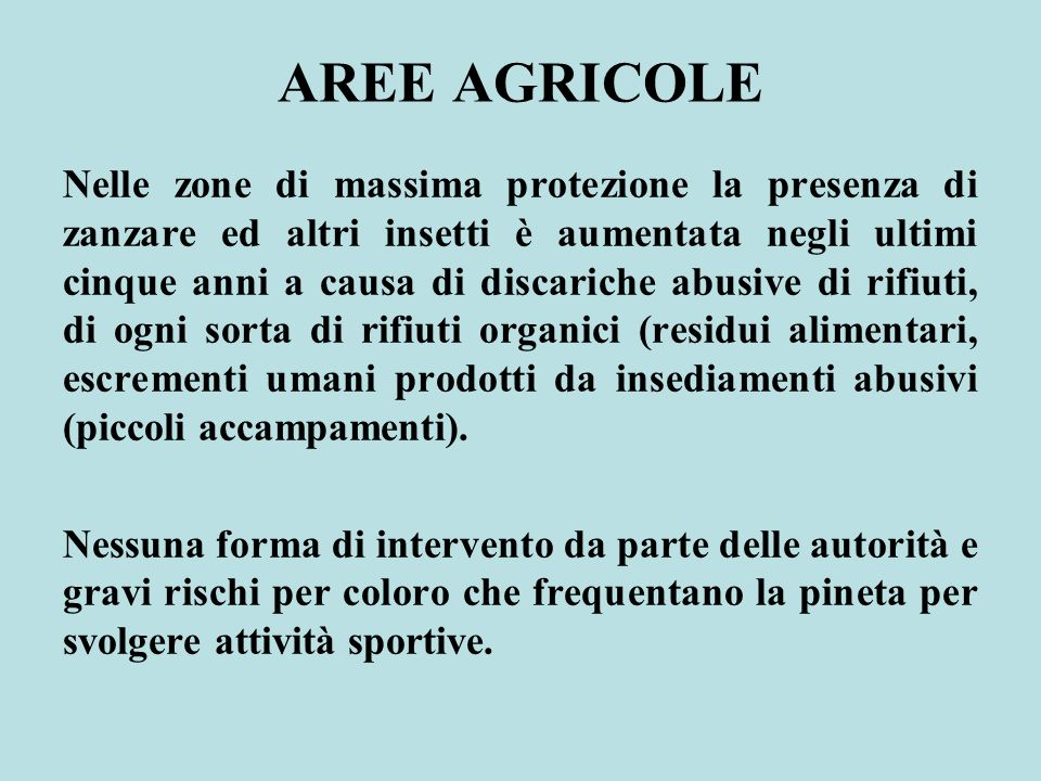 AREE AGRICOLE