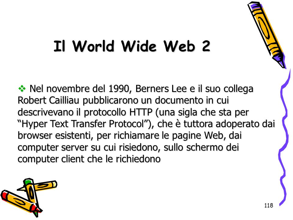 Il World Wide Web 2