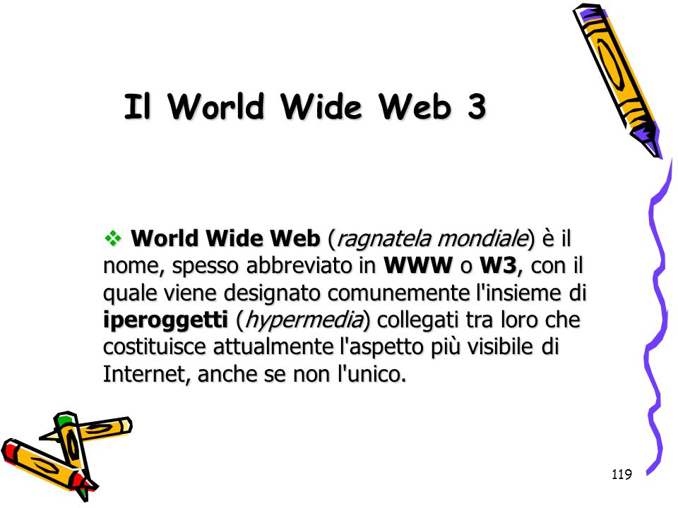 Il World Wide Web 3