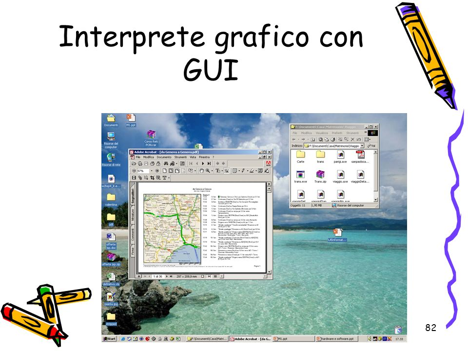 Interprete grafico con GUI