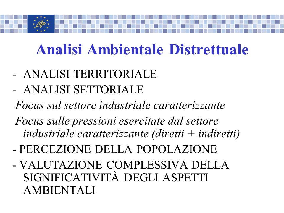 Analisi Ambientale Distrettuale