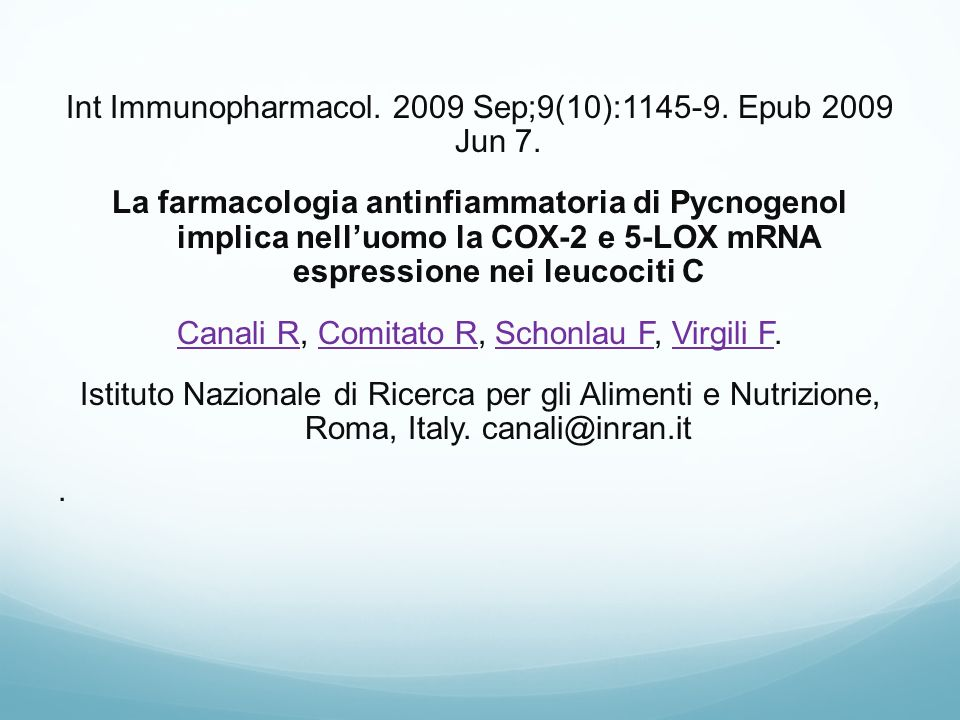 Int Immunopharmacol Sep;9(10): Epub 2009 Jun 7.