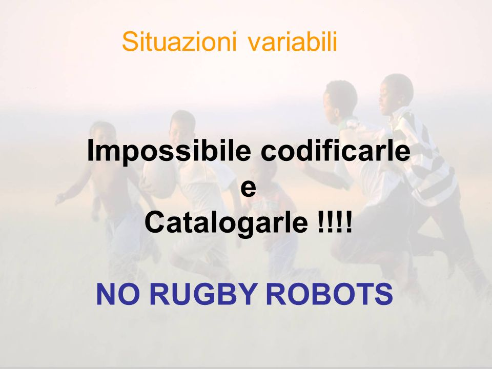 Impossibile codificarle