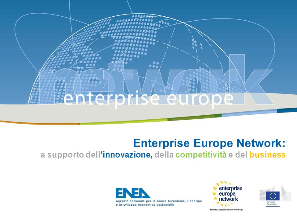 Enterprise Europe Network: