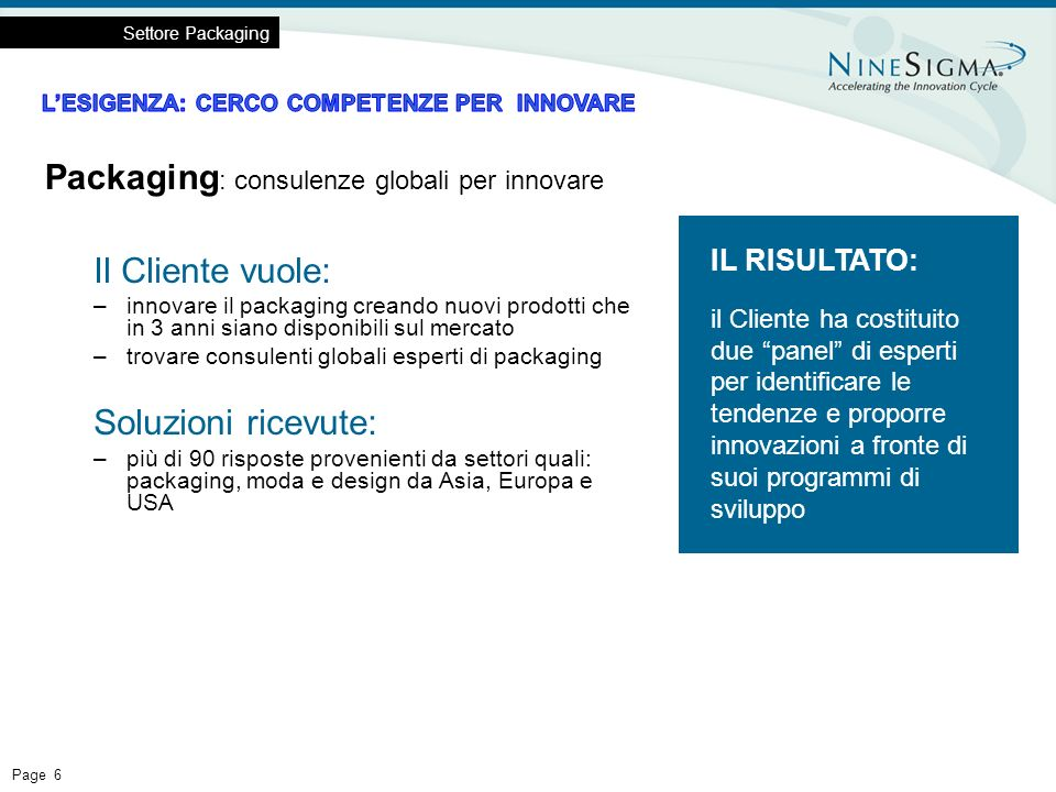 Packaging: consulenze globali per innovare