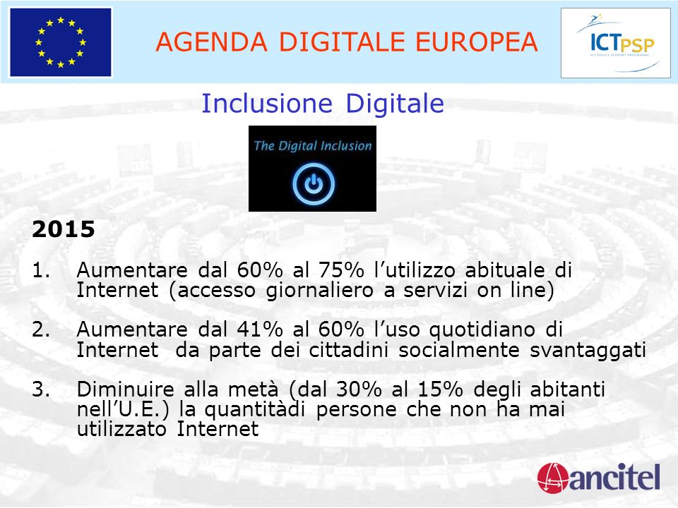 AGENDA DIGITALE EUROPEA