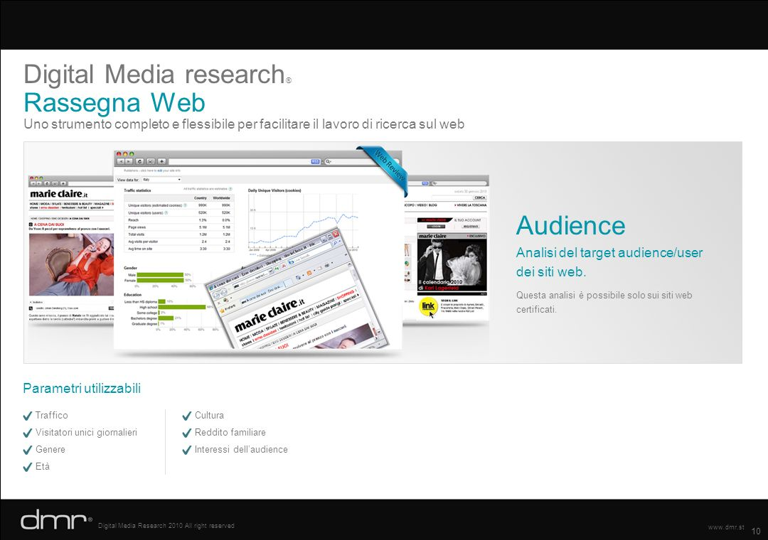 Digital Media research® Rassegna Web