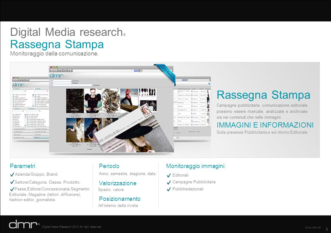 Digital Media research® Rassegna Stampa